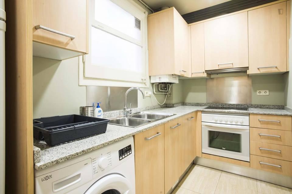 Kitchen Sant Elies Apartment